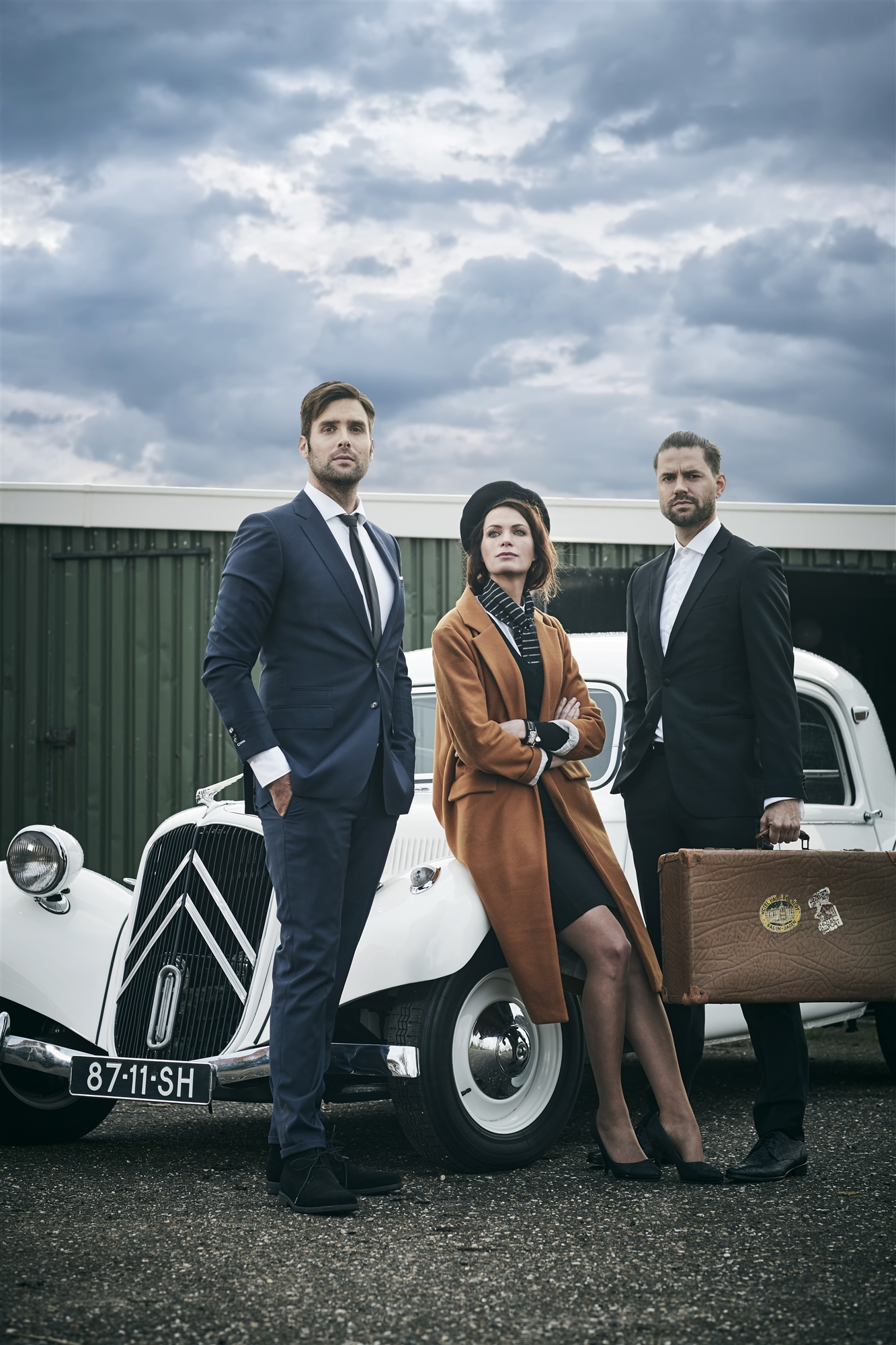 Nick & Simon met Esther Hammink |Valk Magazine ©nopointstudio's| Make-up en haar @Chris Janssen