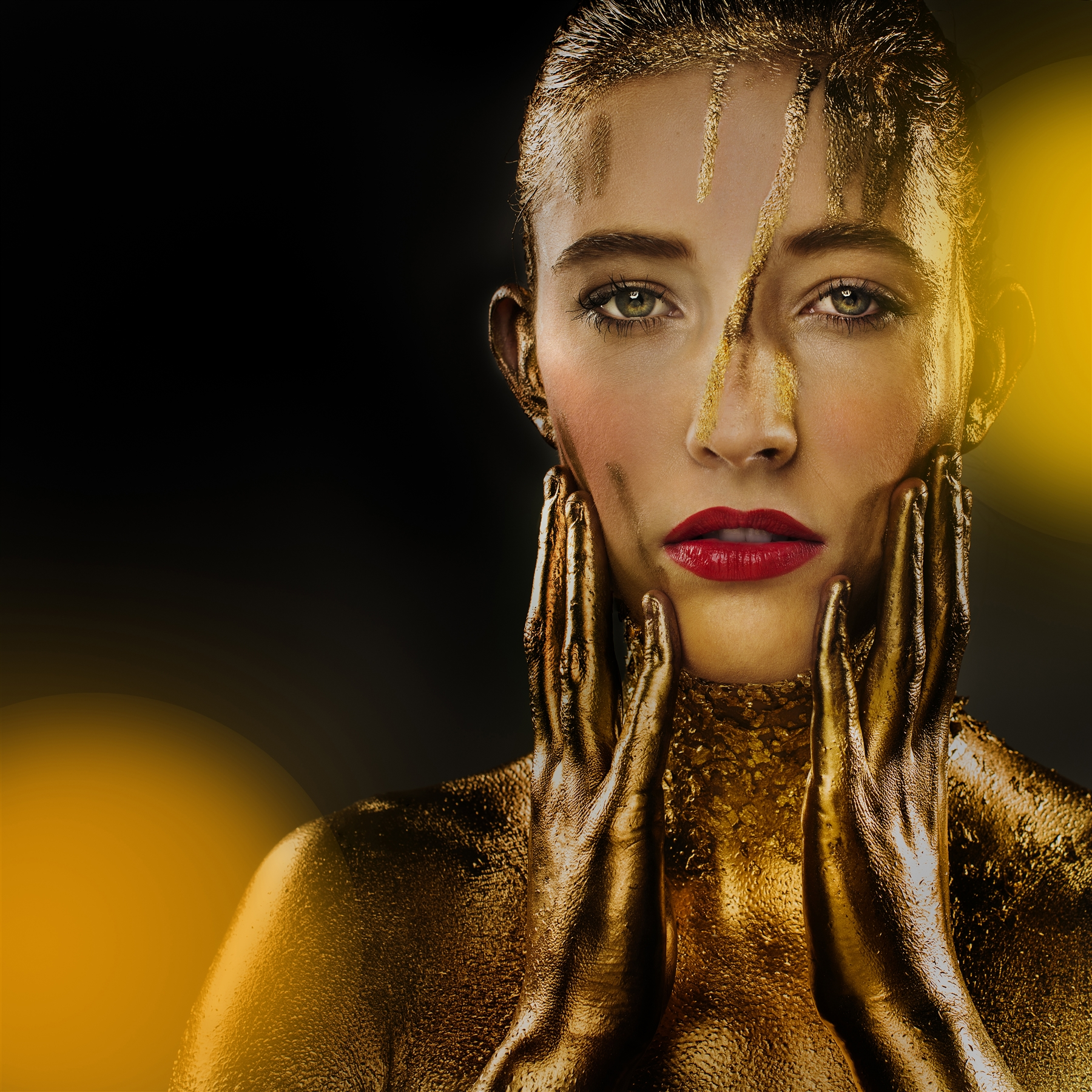 Winnende foto Puur Goud MPN Award 2015 ©Kim Balster | Make-up @Chris Janssen